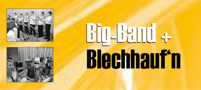 Big-Band und da Blechhaufn