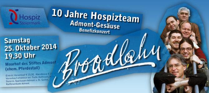 Broadlahn – Benefizkonzert in Admont
