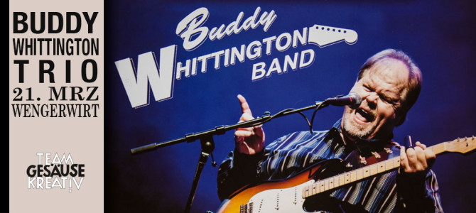 Buddy Whittington Band Live beim Wengerwirt